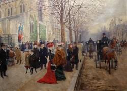 Jean Béraud - Aux Ambassadeurs (1880)