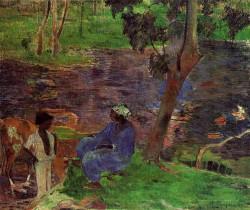At the pond 1887 rijksmuseum vincent van goug amsterdam t