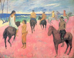 Horsemen on the beach 1902 stavros niarchos collection