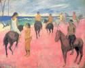 Horseman on the beach, 1902 Paul Gauguin