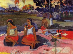 Nave Nave Moe (also known as Delightful Drowsiness) 1894 Paul Gauguin