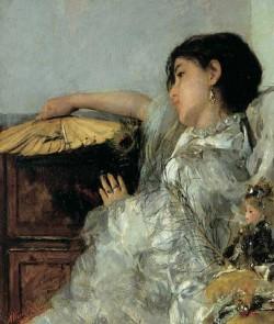 The Two Dolls, 1876 Antonio Mancini