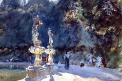 Fountain Boboli Gardens, 1907 John Singer Sargent