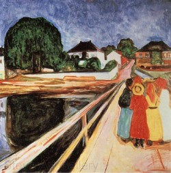 Girls on the Bridge, Edvard Munch 1902