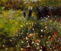 Summer Landscape, 1875 Pierre Auguste Renoir