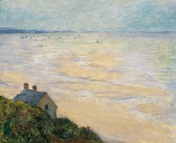 The Hut in Trouville, 1881 Claude Oscar Monet