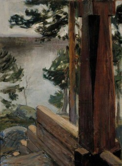 The Kalevala Porch , 1900 Akseli Gallen-Kallela