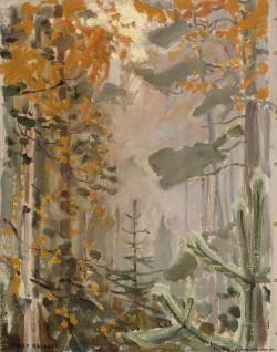 Autumn Landscape, Akseli Gallen-Kallela - 1911