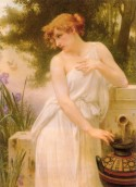 Beauty at the well, Guillaume Seignac
