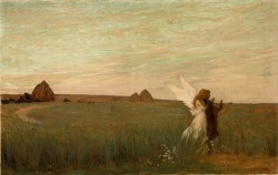 Aman Jean Edmond Hesiod Listening to the Inspiration of the Muse