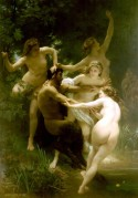 Bouguereau Nymphs and Satyr 1873