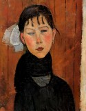 Marie, Daughter of the People 1918 Amedeo Modigliani