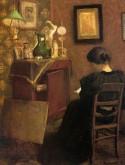 Woman reading, 1894 Henri Matisse