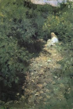 A Stream, 1902 Konstantin Korovin