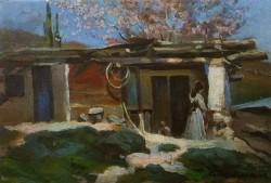 Crimea, Almond Blossoms, Konstantin Korovin