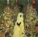 Garden path with Chickens, Gustav Klimt