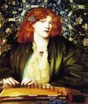 The Blue Bower, 1865, Dante Gabriel Rossetti
