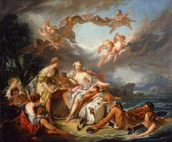 The Abduction of Europa (Raleigh version), 1747 Francois Boucher