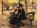 An Afternoon in the Bois de Boulogne, Paris, Isaac Israels