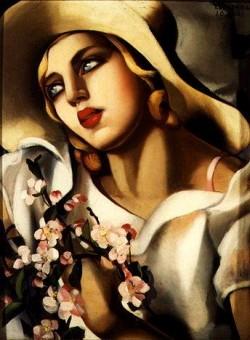 The Straw Hat, 1930, Tamara de Lempicka