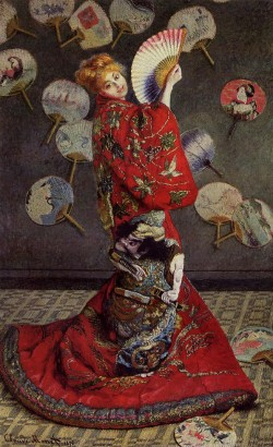 Camille Monet in Japanese Costume, 1876 Claude Monet
