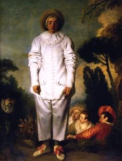Pierrot, called Gilles, 1718 Jean-Antoine Watteau