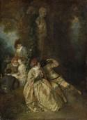 Voulez-vous Triompher des Belles, 1714-1717 Jean Antoine Watteau