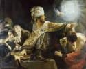 Belshazzars Feast Rembrandt van Rijn