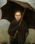 The Umbrella, Marie Bashkirtseff - 1883