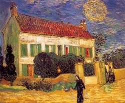 White House at Night, 1890, Vincent van Gogh