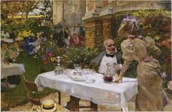 Cafe de Paris, Joaquin Sorolla y Bastida - 1885