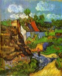 Houses in Auvers, 1890 Vincent van Gogh