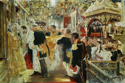 coronation of the emperor nicholas II in the uspensky cathedral 1896 XX the tretyakov gallery moscow russia