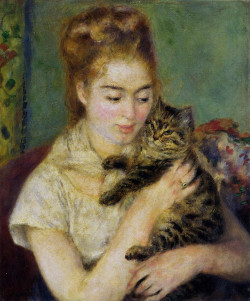Woman with a cat 1875 xx national gallery of art washington
