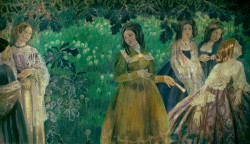 the emerald necklace 1903 1904 XX the tretyakov gallery moscow russia