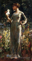 A King's Daughter aka Girl with Lilies, 1889