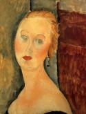 Germaine Survage with Earrings, 1918