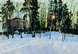 Sunset in Winter, 1914