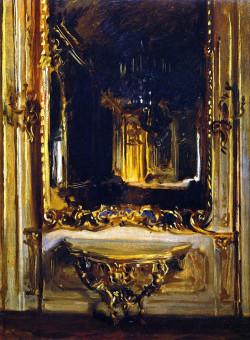 The Rococo Mirror, 1898