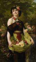 Clarence Rodolphe The Flower Girl