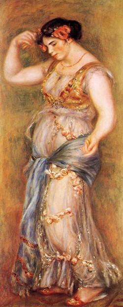 Dancer with castanets gabrielle renard 1909 xx national gallery london