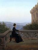 Woman on a Balcony, 1824