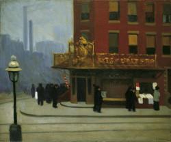 New York Corner (Corner Saloon), 1913
