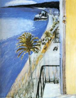 The Bay of Nice, 1918