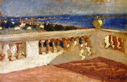 The Bay of Cannes, Seen from the Terrace, 1901