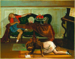 The living room (1941-1943)