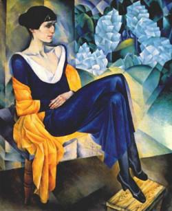 Portrait of Anna Akhmatova, 1914