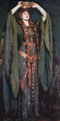 Miss Ellen Terry as Lady Macbeth, 1889