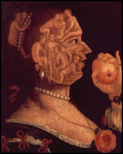 Eve and the apple with ounterpart 1578 xx private collection basle switzerland