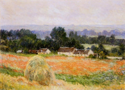 Monet Claude Haystack At Giverny